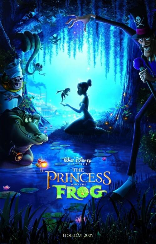 Locandina del film Disney La principessa e la rana