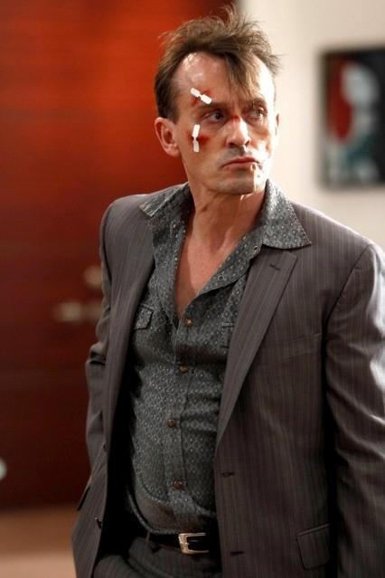 Robert Knepper in una scena dell'episodio Cowboys and Indians di Prison Break