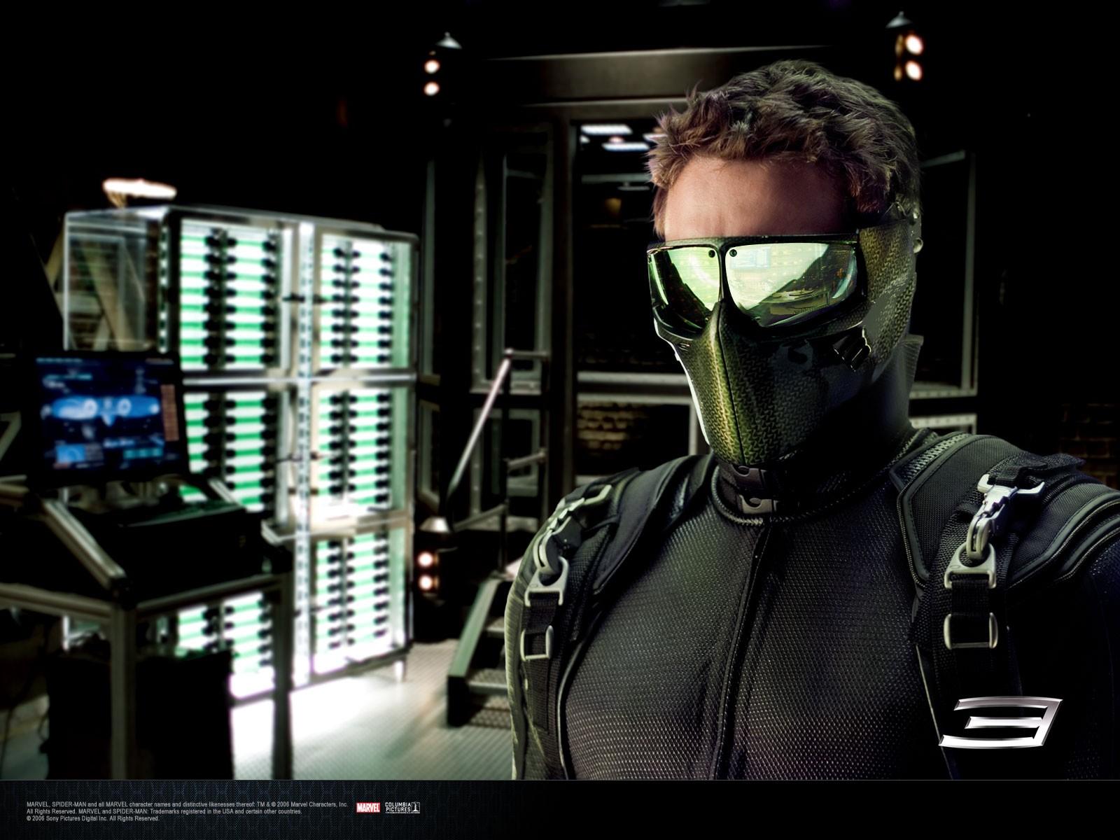 Un wallpaper di Harry Osborn Goblin interpretato da James Franco in 'Spider-Man 3'