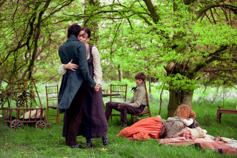 Una sequenza del film Bright Star, di Jane Campion