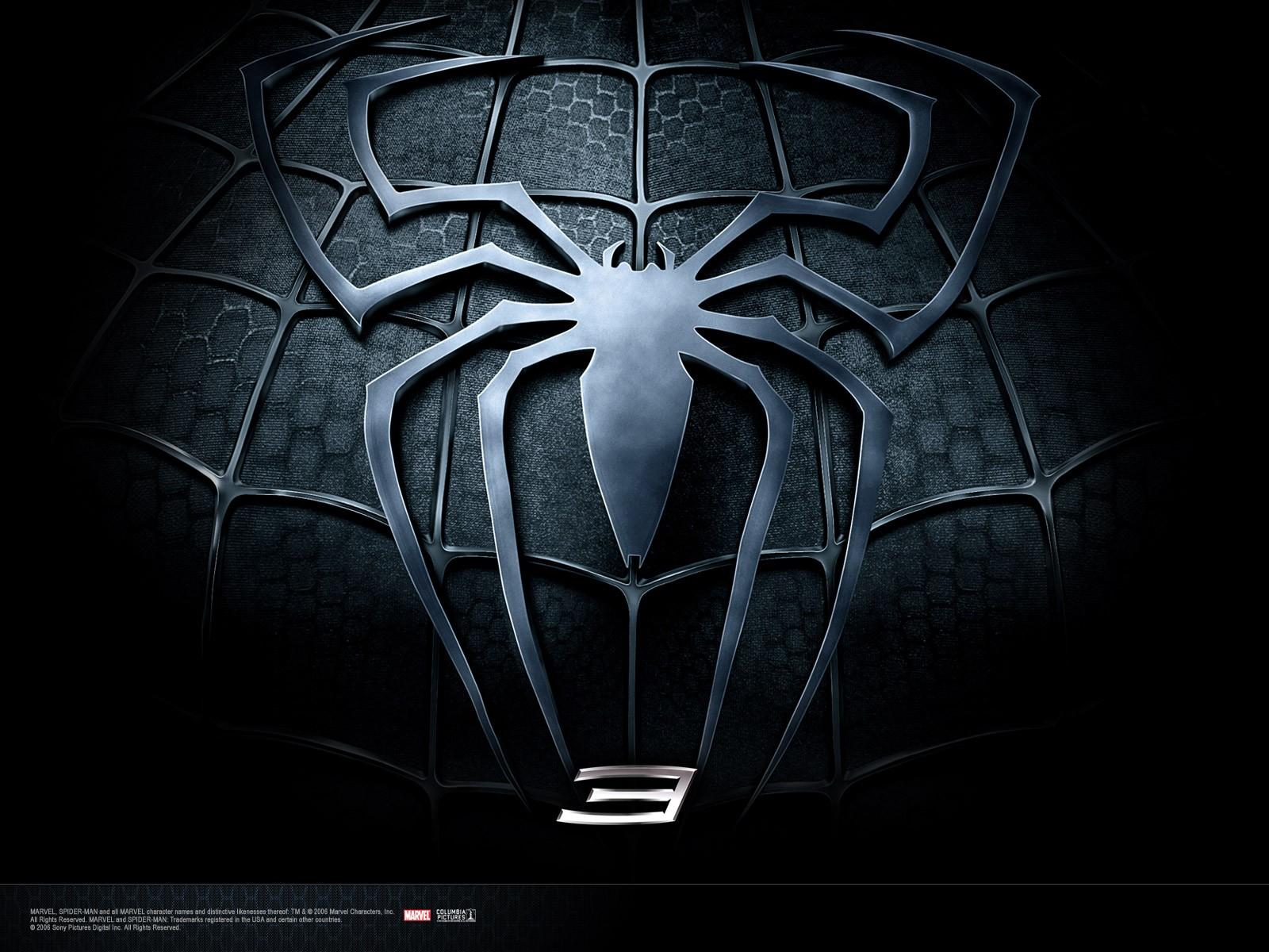 Wallpaper di Spiderman oscuro nel film 'Spider-Man 3'