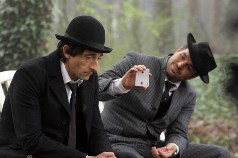 Adrien Brody e Mark Ruffalo in un'immagine del film The Brothers Bloom