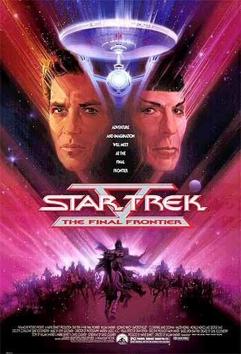 La locandina di Star Trek V: L'ultima frontiera