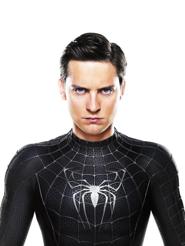 Una foto promo dell'attore Tobey Maguire per 'Spider-Man 3'