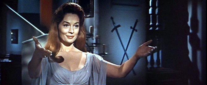 Barbara Shelley è la seducente Helen Kent in Dracula principe delle tenebre