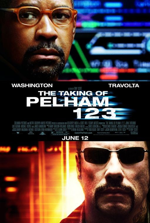 Poster di The Taking of Pelham 123 - Denzel Washington