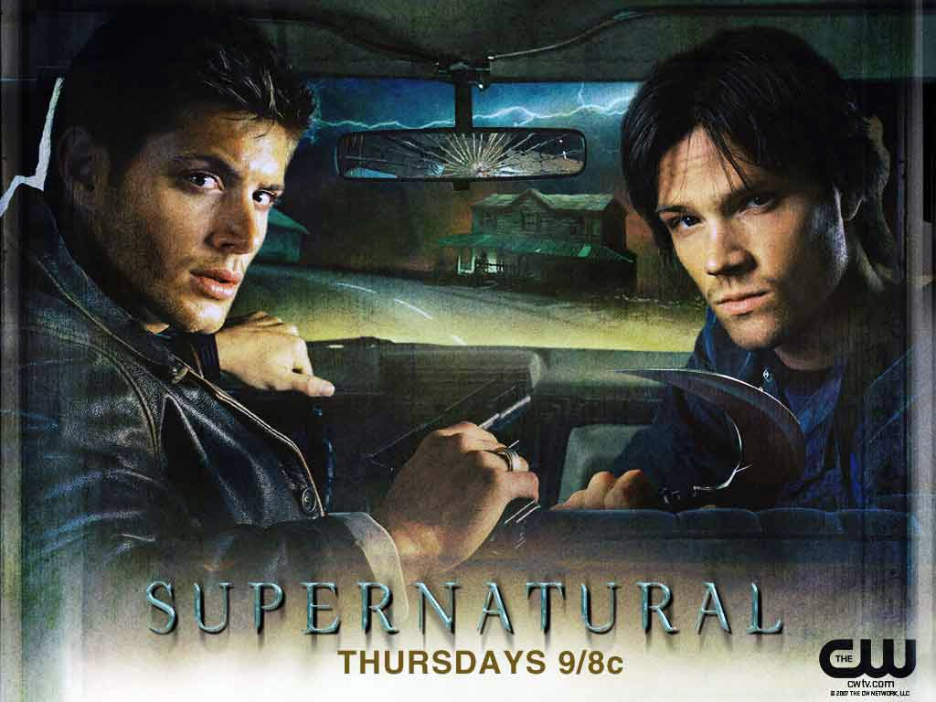 Un wallpaper della serie Supernatural