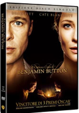 La copertina di Il curioso caso di Benjamin Button (dvd)