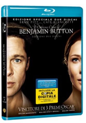 La copertina di Il curioso caso di Benjamin Button - Edizione speciale (blu-ray)