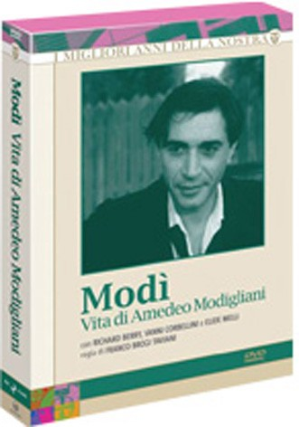 La copertina di Modi' (dvd)