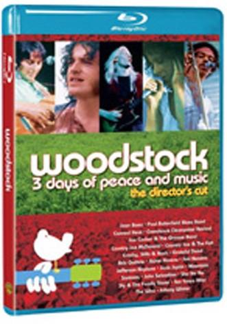 La copertina di Woodstock director's cut - Ed. speciale (blu-ray)