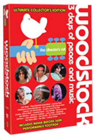 La copertina di Woodstock Director's cut - Ed. speciale (dvd)