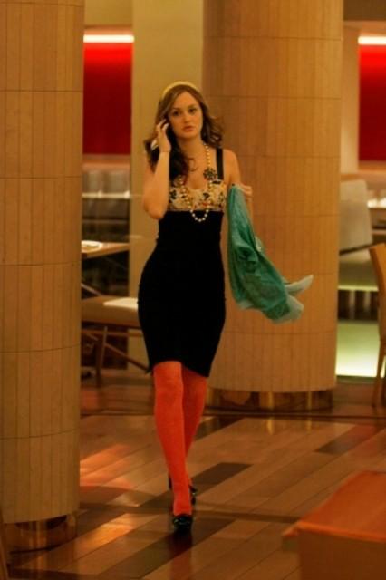 Leighton Meester è Serena nell'episodio The Goodbye Gossip Girl di Gossip Girl