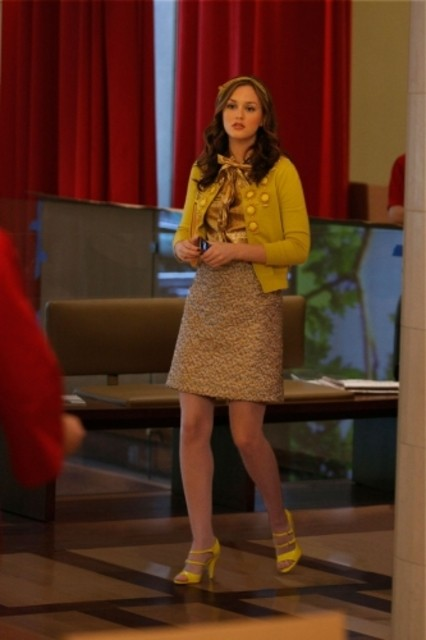 Leighton Meester nell'episodio The Goodbye Gossip Girl di Gossip Girl