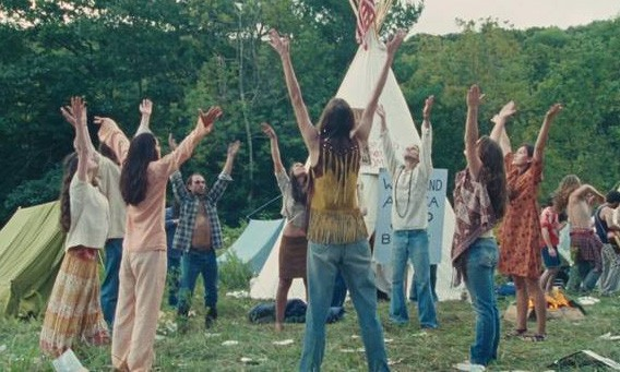 Una scena del film Taking Woodstock, di Ang Lee
