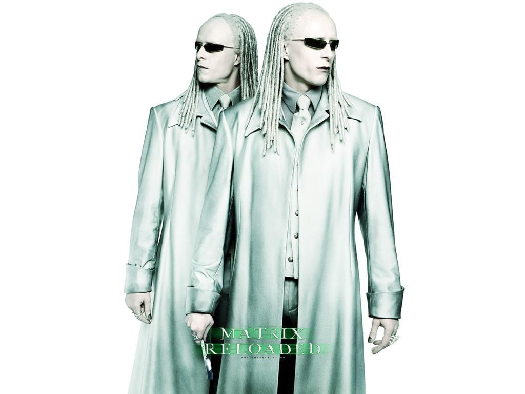 Wallpaper: Adrian e Neil Rayment sono i gemelli albini nel film 'Matrix Reloaded'