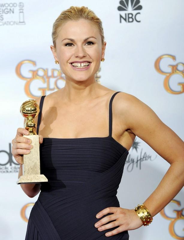 Anna Paquin ha vinto il premio come 'Miglior attrice in una serie drammatica' ai Golden Globes 2009