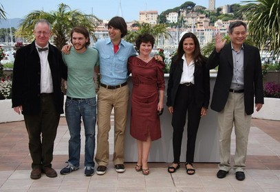 Il cast di Taking Woodstock a Cannes
