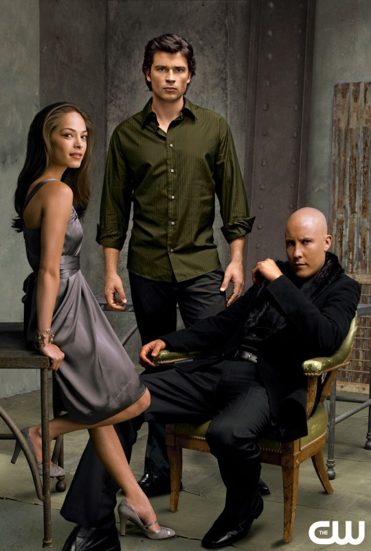 immagine pubblicitaria della 6 stagione di Smallville