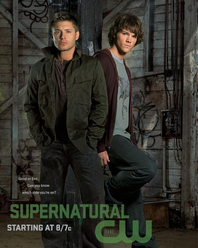 Poster per la seconda stagione di Supernatural