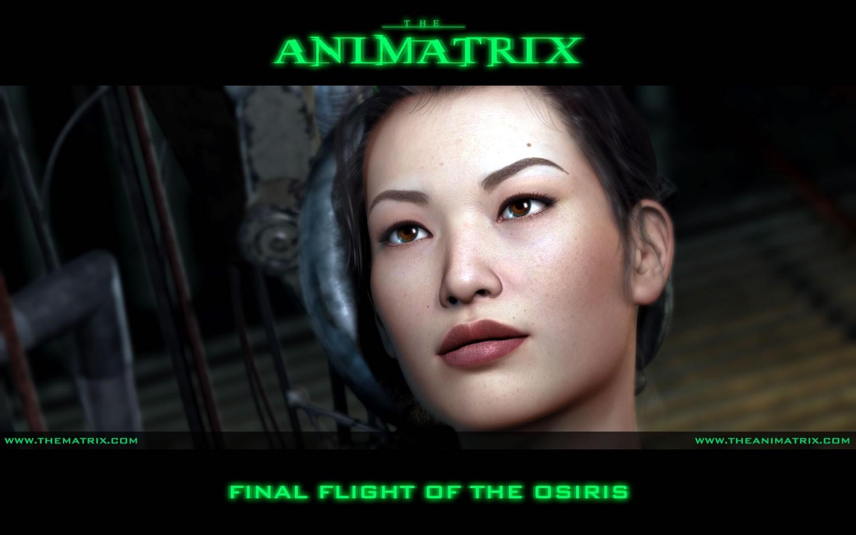 Un wallpaper dell'episodio 'Osiris' di Animatrix