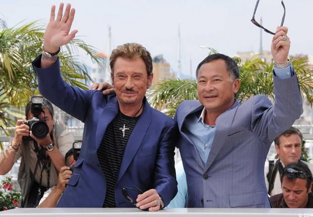 Cannes 2009: Johnny Hallyday insieme a Johnny To presentano Vengeance