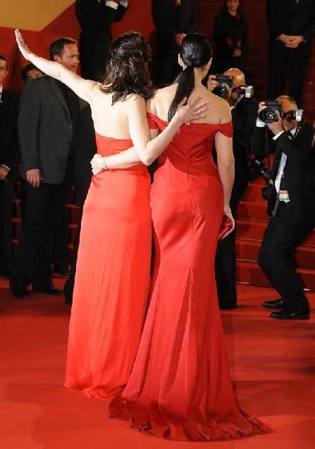 Cannes 2009: Monica Bellucci e Sophie Marceau