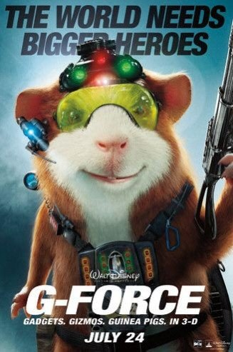 Character poster di G-Force: Superspie in missione - 1