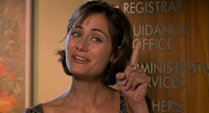 Diane Farr interpreta Amy DeLuca nell'episodio 'Ondata di caldo' di Roswell