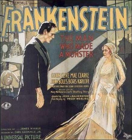 Immagine promo americana di Frankenstein