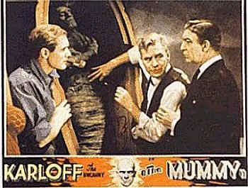 Lobbycard promozionale del film La mummia