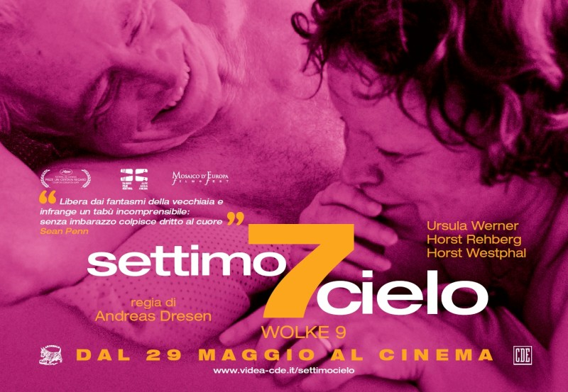 Poster con sviluppo orizzontale italiano di Settimo Cielo