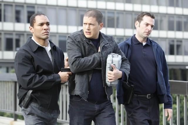 Wentworth Miller in un momento dell'episodio Killing Your Number di Prison Break