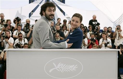 Cannes 2009: Filippo Timi e Giovanna Mezzogiorno presentano Vincere, di Marco Bellocchio