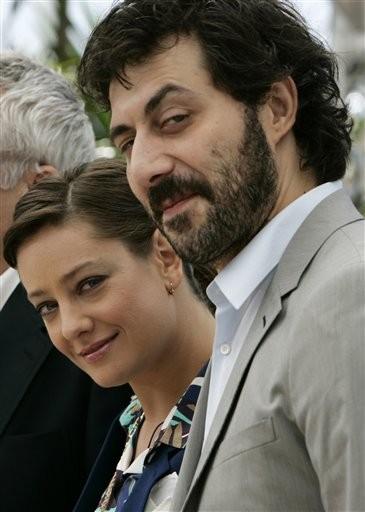 Cannes 2009: Giovanna Mezzogiorno e Filippo Timi presentano Vincere, diretto da Marco Bellocchio
