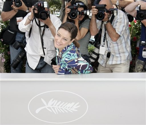 Cannes 2009: Giovanna Mezzogiorno presenta Vincere di Marco Bellocchio