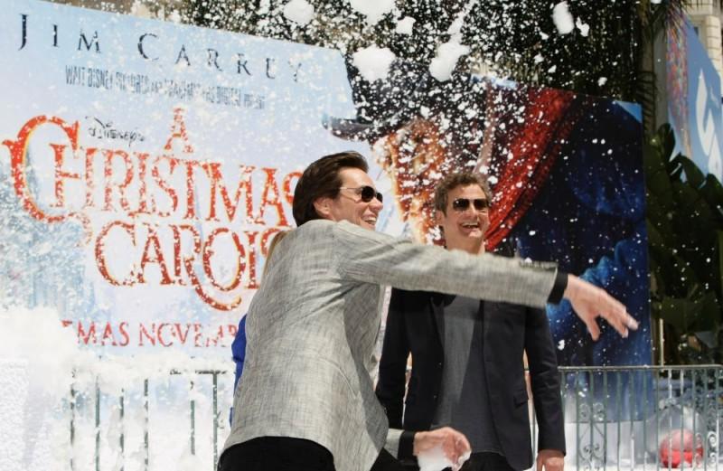 Cannes 2009: Jim Carrey e Colin Firth alla presentazione di A Christmas Carol