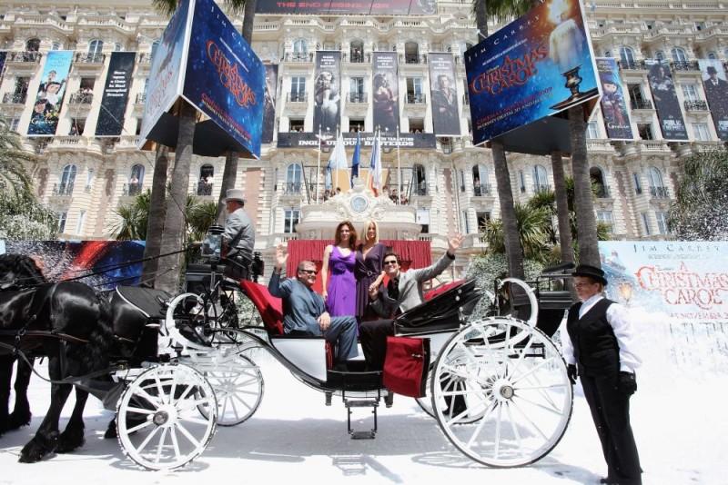 Cannes 2009: Robert Zemeckis e Jim Carrey alla presentazione di A Christmas Carol