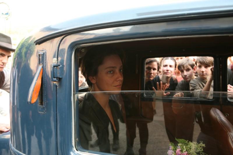 Giovanna Mezzogiorno in una sequenza del film Vincere