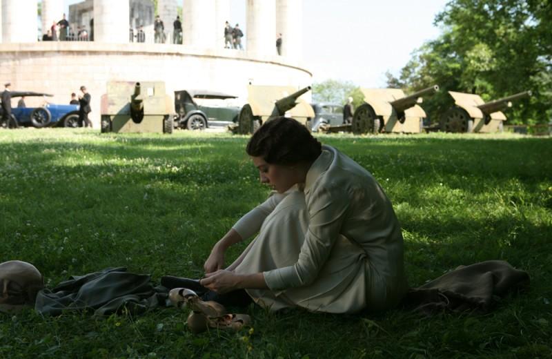 Giovanna Mezzogiorno in una sequenza del film Vincere diretto da Marco Bellocchio