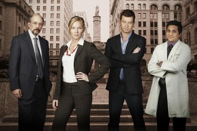 Il cast di Part Life in una foto promozionale della serie