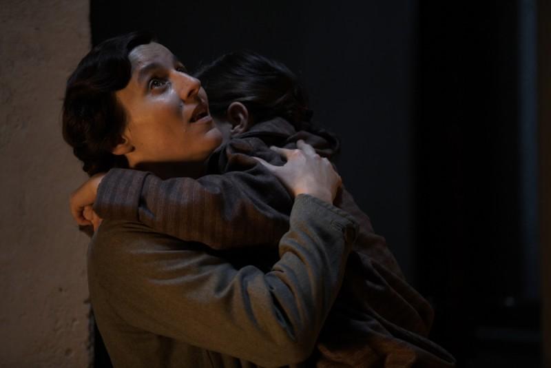 Michela Cescon in una scena del film Vincere
