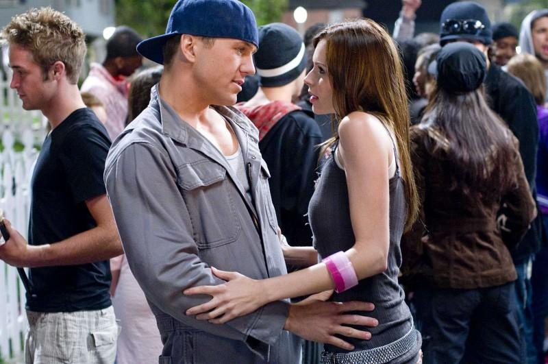 Ross Thomas e Christina Murphy in una scena del film Dance Flick