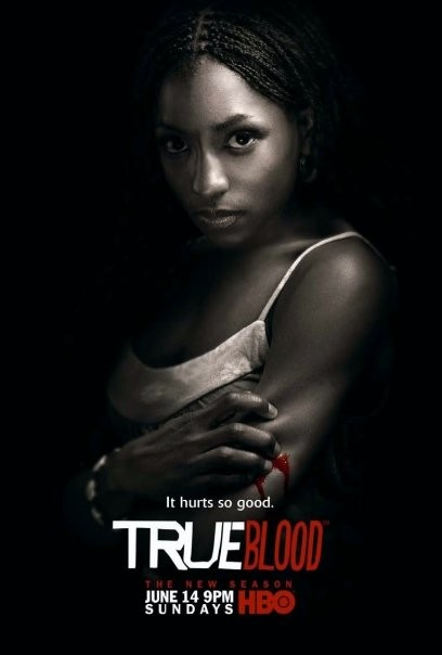 True Blood: Character poster del personaggio di Tara Thornton per la seconda stagione