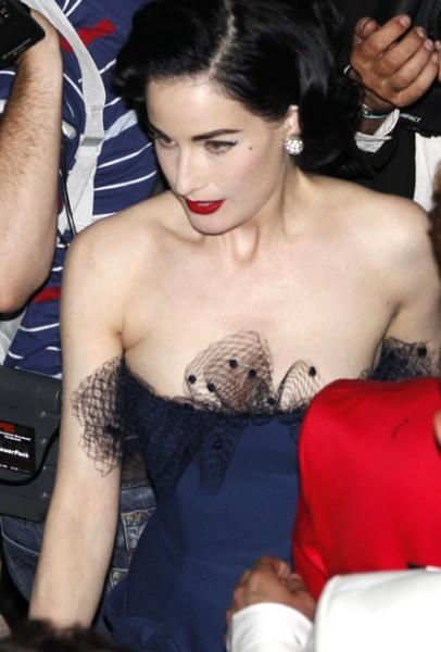 Cannes 2009: la diva del burlesque, Dita Von Teese