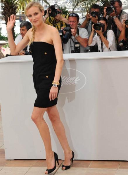 Cannes 2009: la splendida Diane Kruger presenta Bastardi senza gloria di Quentin Tarantino