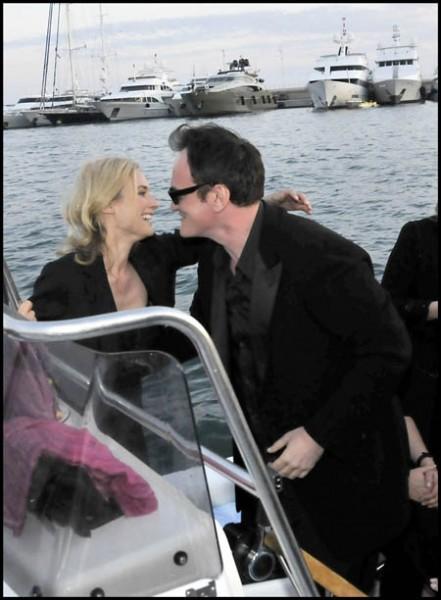 Cannes 2009: Tarantino con Diane Kruger. Il regista ha presentato il suo Bastardi senza gloria