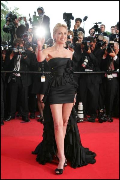 Cannes 2009: un abito mozzafiato per la cinquantenne Sharon Stone