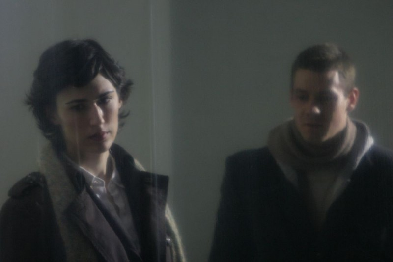 Caroline Kessler e Henry Garrett in una scena del film Visions