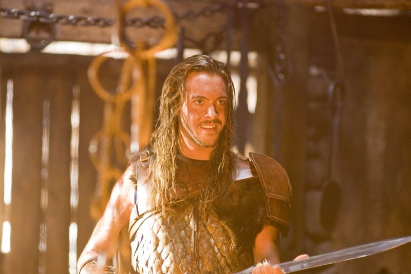 Jack Huston interpreta Wulfric nel film Outlander